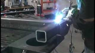 Pulse Mig Welding Project on a Stronghand BuildPro Table