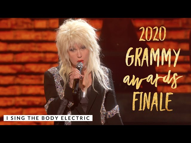 Cyndi Lauper -  I Sing the Body Electric - 62nd Annual Grammy Awards Finale