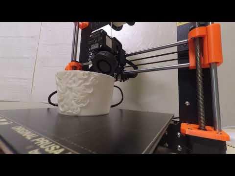 3D печать светильника (3d printing TimeLaps)