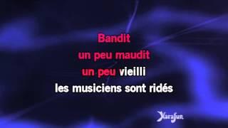 Karaoké Les paradis perdus - Christophe *