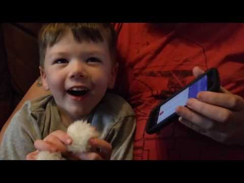 Ryder gets a call from Paw Patrol!! Nick JR Birthday Club Call!!