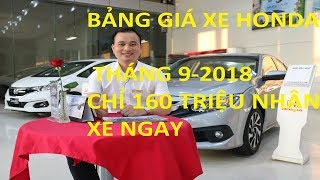 Price List of Cars September 2018 - Only 160 Million Immediately Get Home Car LH 0989588516