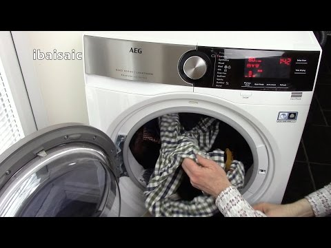 AEG 8000 Series Tumble Dryer Review & Demonstration For ao.com