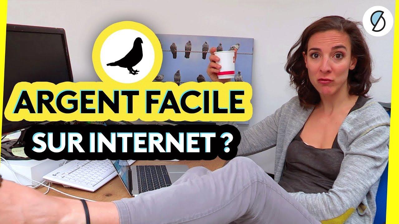 8:47 En cours de lecture À regarder plus tard Ajouter à la file d'attente Gagner de l'argent sur Internet sans se fouler ?