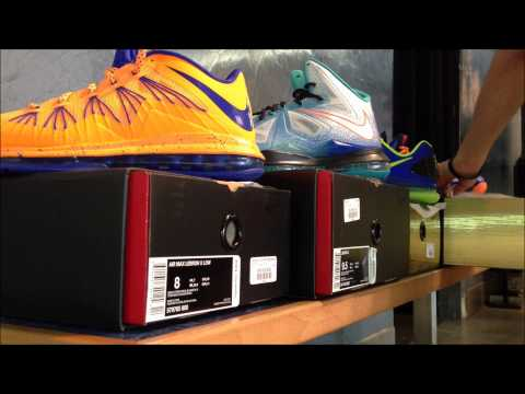 Nike LeBron 10s LOW CAVS, PURE PLATINUM, SUPERHERO Nike KD 5 SUPERHERO Air Jordan Retro 5 GRAPE
