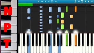 Steven Tyler - Love Is Your Name Piano Cover/Tutorial - How to play Love Is Your Name - Synthesia