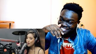 """Sheryn Regis Sings """"Come In Out Of The Rain"""" LIVE On Wish 107.5 Bus Reaction"""