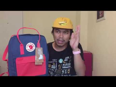 2016 - Quick Comparison of Real & Fake Fjallraven Kanken Backpack