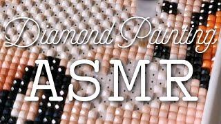 ASMR Diamond Painting - Sticky Glue And Crinkling Plastic