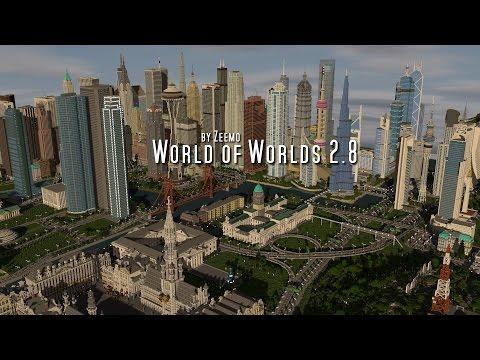 Download Minecraft Map - World of Worlds by Zeemo