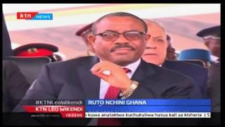 Naibu rais William Ruto ahudhuria kuapishwa kwa Rais Akufo Addo wa Ghana