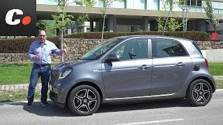 smart EQ forfour (smart electric drive)   Prueba / Test / Review en español   coches.net - Video Youtube