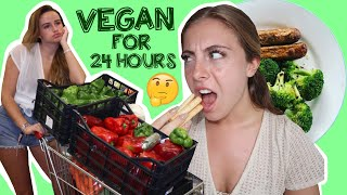 WE TURNED VEGAN FOR THE DAY | Syd and Ell