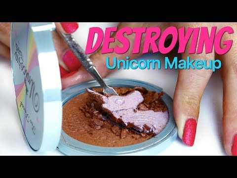 Destroying the Too Faced Unicorn Bronzer for funsies | THE MAKEUP BREAKUP