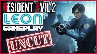 Resident Evil 2 REMAKE | 53 MInutes LEON Gameplay | PS4Pro 60fps