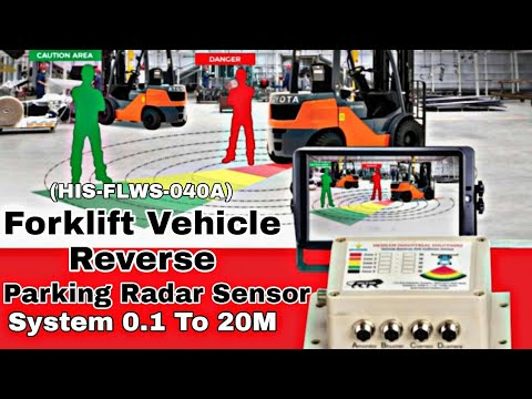 Forklift Anti Collision Radar Detection Sensor System
