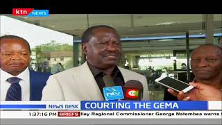 Raila Odinga meets GEMA leaders ahead of BBI rallies
