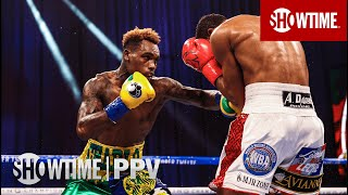 Jermell Charlo KOs Jeison Rosario With Vicious Body Shot in 8th Round   SHOWTIME BOXING PPV