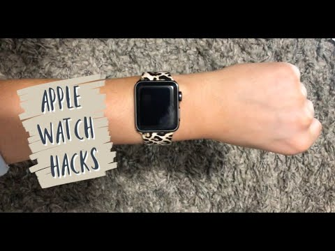 APPLE WATCH HACKS! | what you don't know..