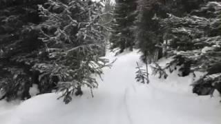 Keystone free ride skiing