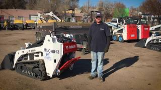 Demo Video: How to Operate a Bobcat MT55 Walk Behind Track Loader