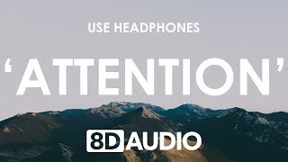 Charlie Puth   Attention (8D AUDIO) 🎧