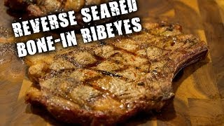How to Reverse Sear Bone-in Ribeyes on a Grill Dome Kamado