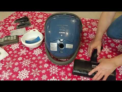 Bosch Formula Electro Duo Cleanup And Dirty HEPA Filter Particle Test
