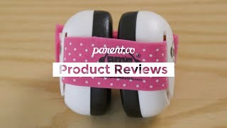 EMS For Baby Earmuffs Black with Headband Black Made in USA