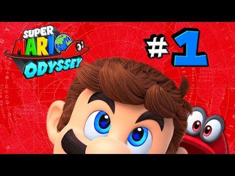 SUPER MARIO ODYSSEY 🌙   #1 - Die blaue Latzhose ist zurück   Let's Play Mario Odyssey [HD+ Deutsch]