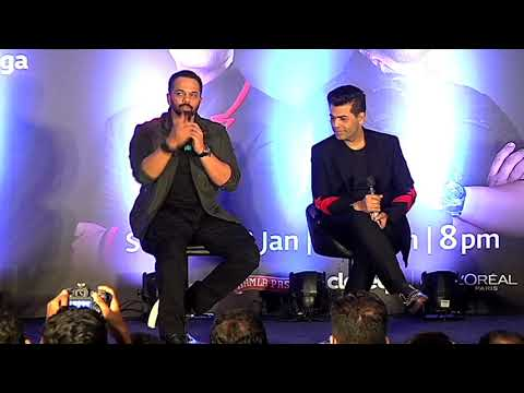 Star Plus India's Next Superstars Press Conference with Rohit Shetty and Karan Johar