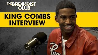 The Breakfast Club - King Combs Talks '90's Baby' Mixtape, Dodges Charlamagne's Intrusive Questions