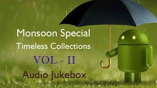Tamil Rain Songs Collection | Monsoon Special Jukebox | Evergreen Hits Collections Vol -2