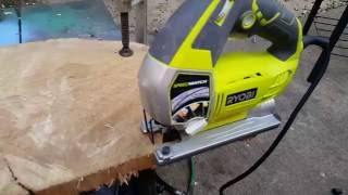 Ryobi jig saw unboxing and test most popular videos ryobi jig saw review greentooth Gallery