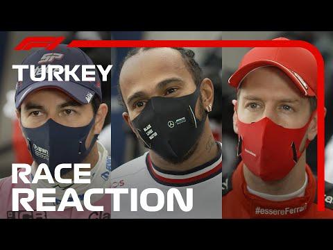 F1 トルコGP 決勝レース後のドライバーインタビュー