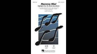 Mamma Mia! (Highlights From The Movie Soundtrack) (SATB Choir)   Arranged By Mac Huff