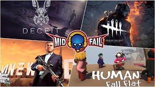 Human Fall Fat   Fun Pandrom   MidFail YT Live Stream (22 10 2019)