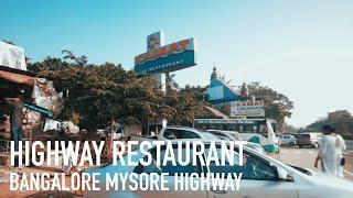Breakfast at Kamat Lokaruchi - Bangalore Mysore Highway Restaurant