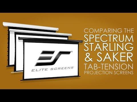 """Elite Screens Saker Tab Tension SKT135XHW-E6 (Motorized, 135"""", 16:9)"""
