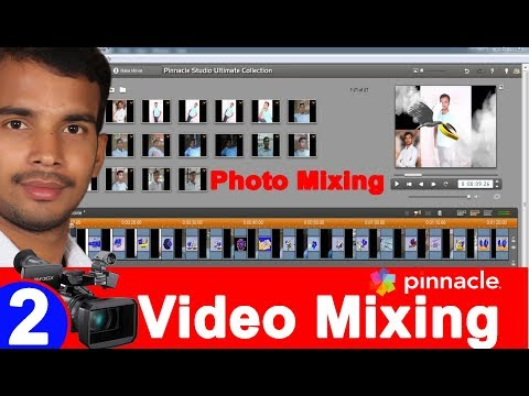 Learn Photo Editing & Mixing in Pinnacle Studio -14   2nd Tutorial