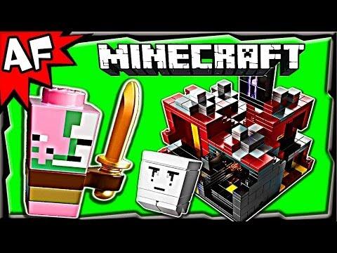 Vidéo LEGO Minecraft 21106 : Micro monde - Le Nether