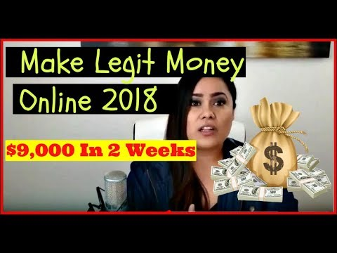 Legit Ways To Make Money From Home 2018 – How To Make Money Online Fast 2018 – $100 A Day Online