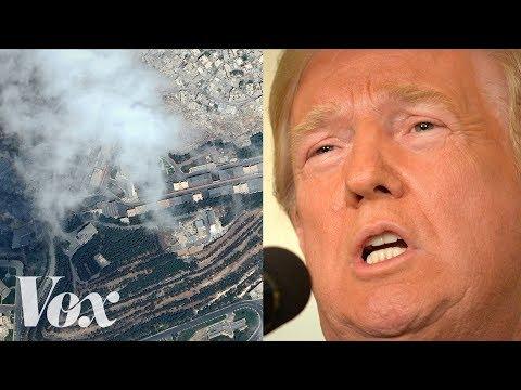 Proč nedávný útok na Sýrii pravděpodobně nebude fungovat - Vox