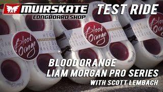 TestRide Blood Orange Liam Morgan Freeride Wheels with Scott Lembach