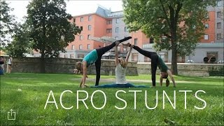 Acro stunts - akrobacie | TrioGym