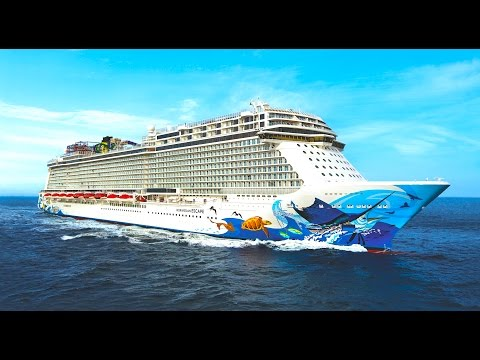 Norwegian Escape TOUR & cruise ship REVIEW decks and cabins  – ReiseWorld travel channel