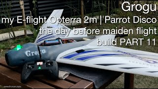 Grogu my E-flite Opterra 2m | Parrot Disco HYBRID Project - FPV long range drone build ~ PART 11