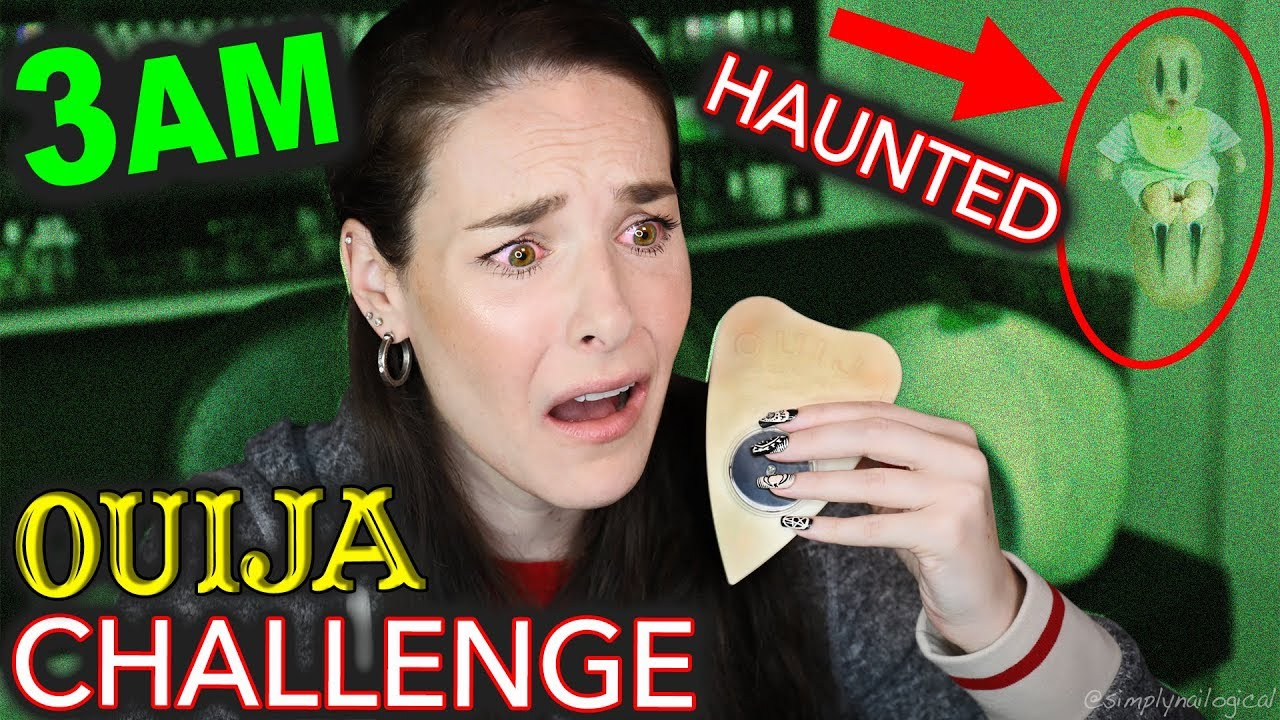 BABY GHOST CAUGHT ON CAMERA *MY FIRST TIME* OUIJA 3AM HAUNTED PARANORMAL ACTIVITY CHALLENGE (SCARY) thumbnail