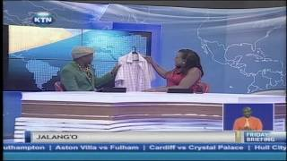 KTN Friday Briefing guest anchor : Jalang