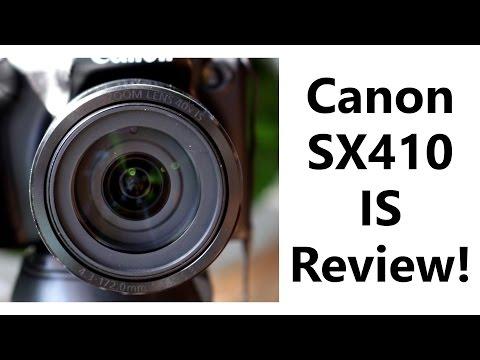 Canon PowerShot SX410 IS Bridge Camera Review! (+ sample pictures)